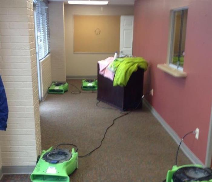 Medical Clinic Water Damage in Walnut, MS Before