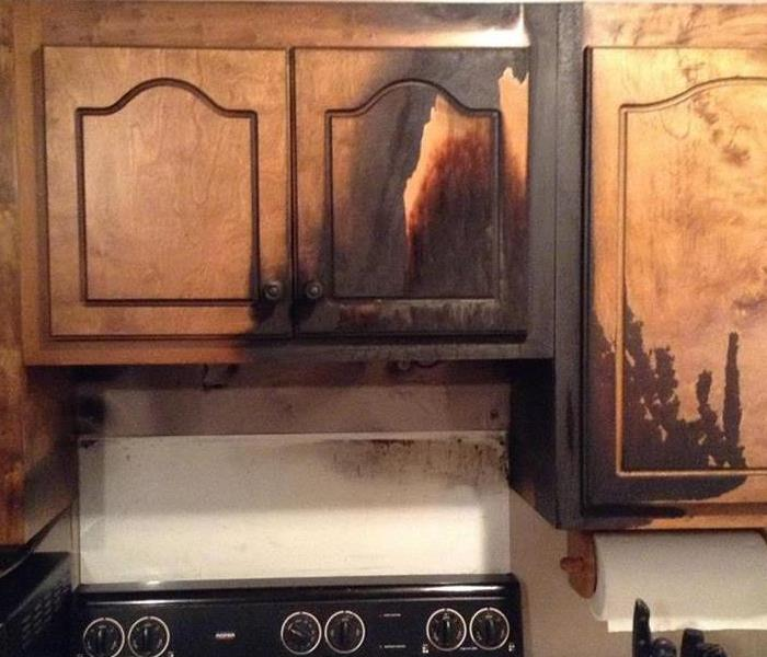 Kitchen Fire in Corinth, MS