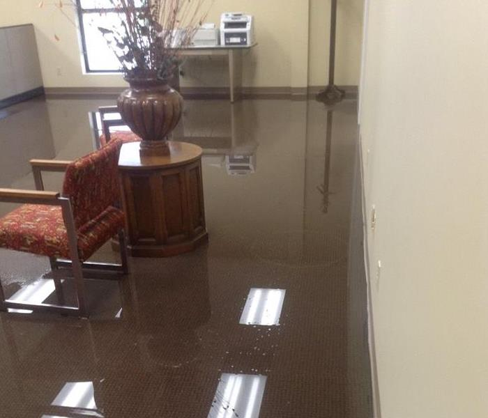 Water Damage due to Flooding