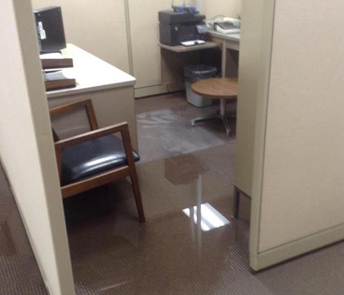 Commercial Office Water Damage